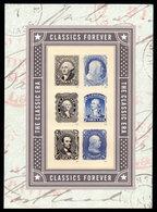 USA, 2016 Scott #5079, Stamps From The Classic Era,  Minisheet Of 6,  MNH, VF - Ongebruikt