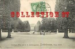 AUSTRIA ☺♦♦ WIEN < SCHLOSS ALLEE Im K. K. SCHLOSSGARTEN  SCHONBRUNN - VIENNE AUTRICHE - Château De Schönbrunn