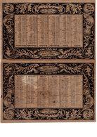 ALMANACH- 1835 CALENDRIER BERTHELLEMOT - Confiseur Au  Palais-Royal,  FEV-2019-clas - Calendriers