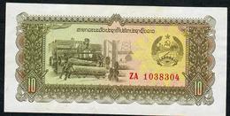 LAOS P27 10 KIP 1979 #ZA = REPLACEMENT   UNC. - Laos