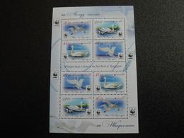 Kyrgyzstan 2015 - WWF Birds Whooper Swan (Cygnus Cygnus) - Complete Sheet - Kirghizistan