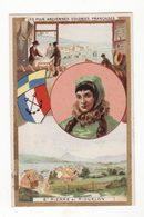 Chromo  CHICOREE VOELCKER COUMES   à Bayon    Anciennes Provinces Françaises   Saint Pierre Et Miquelon    10.5 X 6.5 Cm - Trade Cards