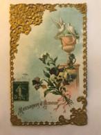Belle Carte Dentelle - Messagers D'Amour - Dreh- Und Zugkarten