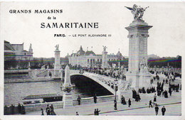 Grands Magasins De La Samlaritaine Paris - Le Pont Alexandre    (111585) - Pubblicitari