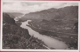 Norway Norge Norvege Kvinesdal 1933 Fotokaart Photo Card Noorwegen (In Very Good Condition) - Norvège