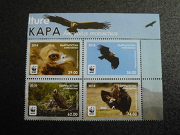 Kyrgyzstan 2014 - WWF Birds Cinereous Vulture / Eurasian Black Vulture (Aegypius Monachus) - Kirghizistan