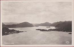 Norway Norge Norvege Flekkefjord Fjord 1933 Fotokaart Photo Card Noorwegen (In Very Good Condition) - Norvège