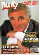 Tele K7 N°436  Janvier 1992charles Aznavour,higelin,palmade +++TBE+++ PORT GRATUIT - Fernsehen