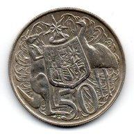 AUSTRALIA - Pièce 50 Cents - 1966 - Monnaie Décimale (1966-...)