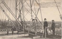 Loire Atlantique . Nantes .L' Ingénieur Arnodin Qui A Conçu Le Pont Transbordeur Et Son Bras Droit L' Ingénieur Baudin . - Nantes