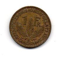 CAMEROUN - Pièce 1 Franc - 1924 - Cameroun
