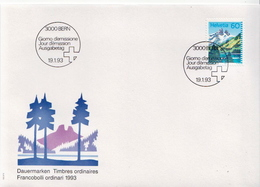 Switzerland Stamp On FDC - Other