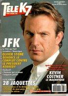 Tele K7 N°438 Janvier 1992 Kevin Costner,jane Birkin,yves Montand +++TBE+++ PORT GRATUIT - Fernsehen