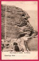 Greetings From - St. Helena - West Rocks And Ladder - T. JACKSON - Sainte-Hélène