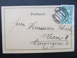 KARTE Zwettl - Wien 1910 Otto Neugebauer Verlag !! ///  D*36469 - 1850-1918 Imperium
