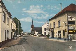 Chaumont-Gistoux , Centre Et église ; Publicité Bière : Vieux Temps,Stella Artois ;Three Stars Léopold,stock ,Martini - Chaumont-Gistoux