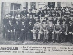 1948  Annoeullin  La Philarmonie Republicaine Annoeulin - France