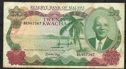 MALAWI P17 20 KWACHA 1.11.1984 FINE Only 1 P.h. ! - Malawi