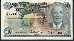 MALAWI P13f 50 TAMBALA 1984  VF  NO P.h. ! - Malawi