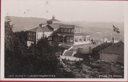 Norway Norge Norvege Bergen Floirestauranten 1940 Fotokaart Photo Card  (Small Brown Spot) Nordic - Norvège