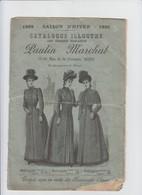 MONS - PUB - PAULIN MARCHAL - CATALOGUE ILLUSTRE - MODE FEMME ET HOMME - 14 PAGES - 1890 - Pubblicitari