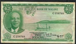 MALAWI P7 2 KWACHA L.1964 ( 1971 )    VF  NO P.h. ! - Malawi