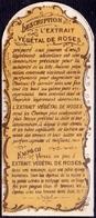 PRINT From J. STERN BERLIN -  EXTRAIT  VEGETAL  DE  ROSES -  Cc 1910/5 - Ours Parfumés