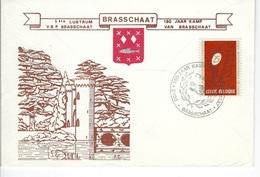 België  O.B.C.   1550     150 Jaar Kamp Brasschaat. - Sobres