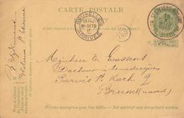BELGIUM - Carte Postale - Coat Of Arms - Circulated 1910 - 1893-1907 Armoiries