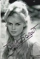 Autographe Brigitte Bardot - Autographs