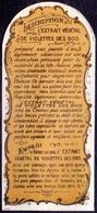 PRINT From J. STERN BERLIN -  L'EXTRAIT  VEGETAL  DE  VIOLETTES  DES  BOISROSES -  Cc 1910/5 - Perfumed Bears