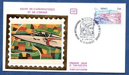 Enveloppe Premier Jour  / Salon De L'Aéronautique Et De L'Espace / Le Bourget / 6-6-81 - FDC