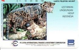 Animal Jungle Télécarte Indonésie   Phonecard  (G 86) - Indonesia