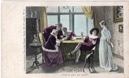 Chocolat VINAY - Cartes A Jouer - C' Est Le Coeur Qui Gagne   (111603) - Publicité