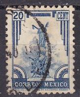 Messico, 1934/40 - 20c Independence Monument, Puebla - Nr.715 Usato° - Messico