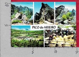 CARTOLINA VG PORTOGALLO - MADEIRA - Pico De Arieiro - Vedutine Multivue - 10 X 15 - ANN. 1981 - Madeira