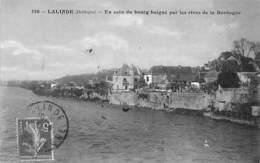 Lalinde       24     Vue Prise Des Rives De La Dordogne     (voir Scan) - France