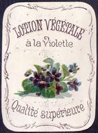 PRINT From J. STERN BERLIN - LOTION  VEGETALE  VIOLERTE -  Cc 1910/5 - Ours Parfumés