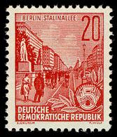 580A Fünfjahrplan 20 Pf, Zähnung A, ** - DDR