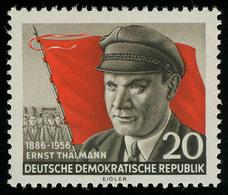 520A XI Ernst Thälmann, Gezähnt, Wz.2 XI ** - DDR