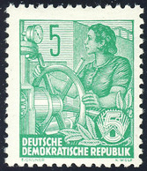 577A Fünfjahrplan 5 Pf, Zähnung A, ** - DDR