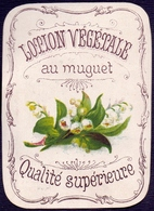 PRINT From J. STERN BERLIN - LOTION  VEGETALE  MUGUET-  Cc 1910/5 - Perfumed Bears