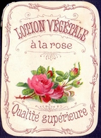 PRINT From J. STERN BERLIN - LOTION  VEGETALE  ROSE-  Cc 1910/5 - Ours Parfumés