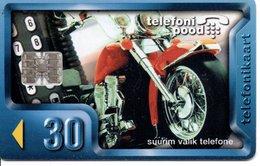 Moto Motor  Télécarte  Phonecard  (G 87) - Estonie