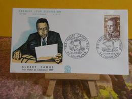 Albert Camus - 84 Lourmarin- 24.6.1967 FDC 1er Jour N°605 - Coté 2€ - 1960-1969