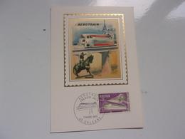 FRANCE (1970) AEROTRAIN - Cartes-Maximum