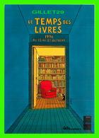 ADVERTISING - PUBLICITÉ DE LIVRES - LE TEMPS DES LIVRES EN 1996 - CENTRE NATIONAL DU LIVRE - IMAGE, ANDRÉ JUILLARDE - - Publicité
