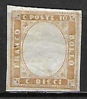 SARDAIGNE    -   1855.   Y&T N° 11 (*) - Sardaigne