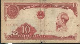 Billet 10 Dong VietNam 1958 - Viêt-Nam