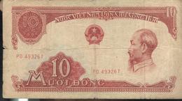 Billet 10 Dong VietNam 1958 - Vietnam
